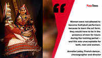 Breaking gender roles in Kathakali art form