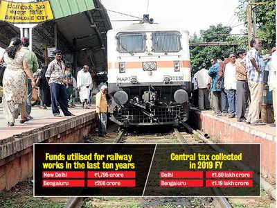 Railways in Namma Bengaluru suffers from 'crore' issue