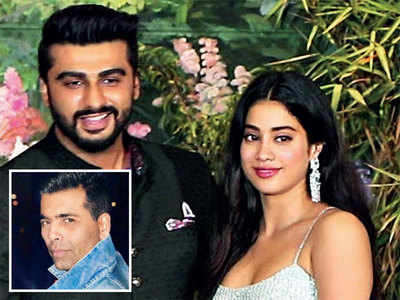 Arjun Kapoor and Janhvi Kapoor mark their first joint appearance on Koffee With Karan