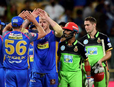Highlights: RCB vs RR, IPL 2018: Rajasthan Royals beat Royal Challengers Bangalore by 19 runs