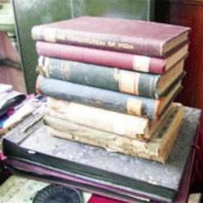 Rare draft of constitution falling apart in city college