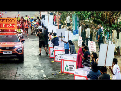 Social messages, personal bonds at Mumbai Marathon