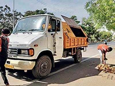 Sanitation workers seek safety gears