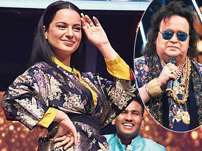 Song and dance for Bappi Lahiri and Kangana Ranaut