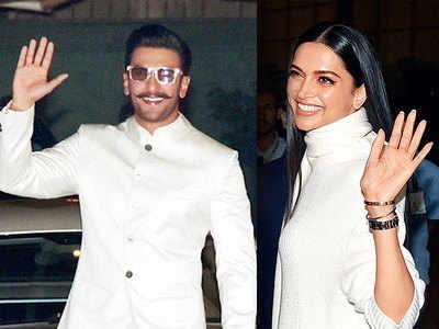 Ranveer Singh, Deepika Padukone kick off Italian celebrations with mehendi, sangeet