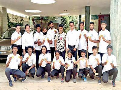 Karnataka kickboxers bag 29 gold medals national games