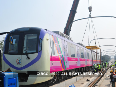 Shiv Sena demands change in names of Pune metro trains - Aqua and Purple