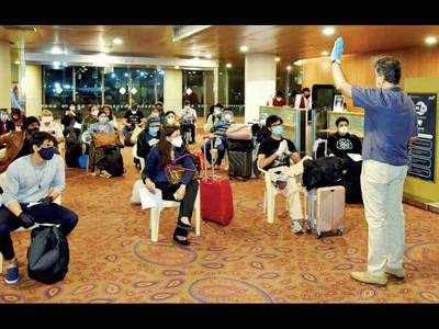 After getting the rough end, state demands more flights