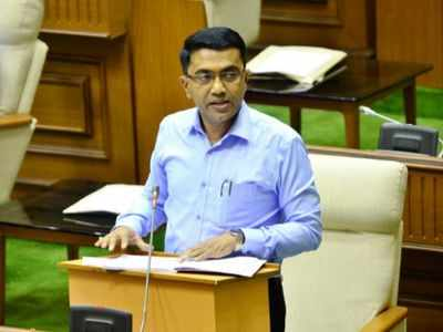 CM Pramod Sawant slams politicians for destroying Goa's image