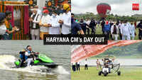 Haryana CM ML Khattar inspects adventure activities in Morni, Panchkula