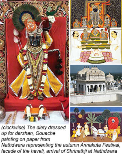Pilgrim nation: Nathdwara God in the Haveli