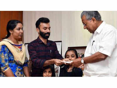 Kerala Floods: Lottery winner donates winning ticket to CM's relief fund