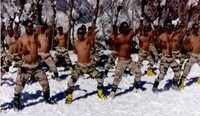 Watch: ITBP jawans practice martial arts at 11000 feet in Uttarakhand
