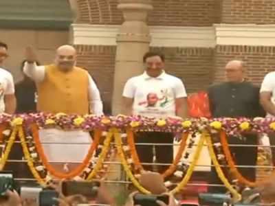 Ekta Diwas: President Ram Nath Kovind, Home Minister Amit Shah pay floral tributes to Sardar Vallabhbhai Patel