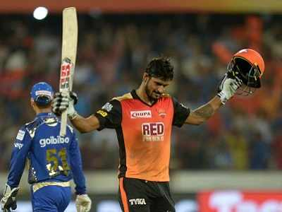 Highlights: Sunrisers Hyderabad vs Mumbai Indians, IPL 2018: SRH beat MI in Hyderabad