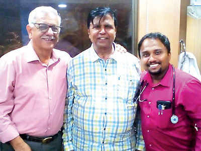 Sr citizen beats rare syndrome to fully recover