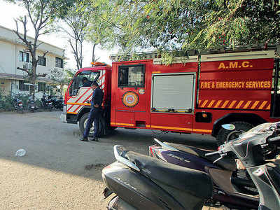 Not enough firemen for city, but eight of them being 'wasted' at Collectorate for 2 yrs