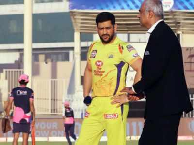 IPL 13: Chennai Super Kings win toss, opt to field first against Rajasthan Royals