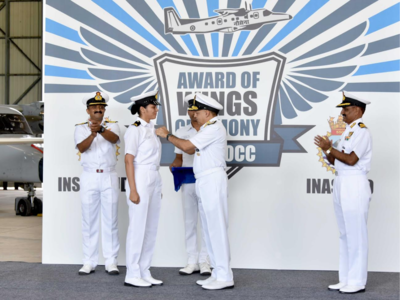 Sub-Lieutenant Shivangi becomes Indian Navy's first woman pilot