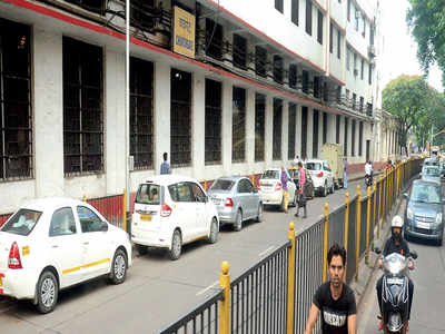 App-based cabs take passengers for a ride