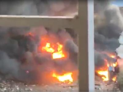 Mumbai: Level-3 fire breaks out at Kurla scrap compound on Mankhurd-Ghatkopar Link Road