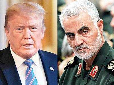 Iran issues arrest warrant for Trump over general's killing