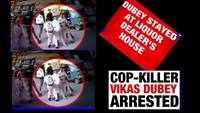 Gangster Vikas Dubey took shelter at a liquor dealer's home in Ujjain: Sources