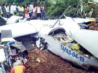Rustom-II crashes near Chitradurga