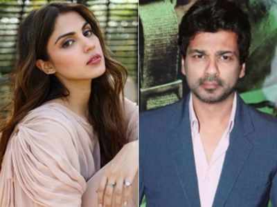 Nikhil Dwivedi to Rhea Chakraborty: Would like to work with you when all this is over