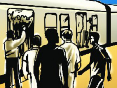 Mumbai: Woman falls off running local near Bhandup, gets injured