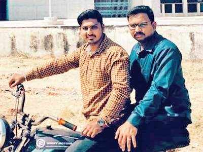 Two students of GTU develop electric kit for motorcycles