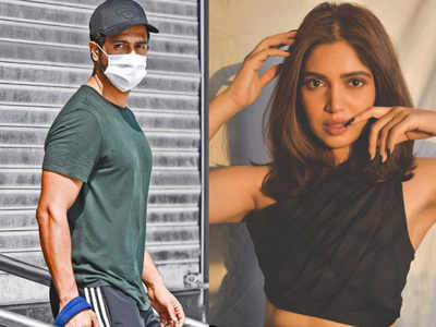 Exclusive! 'Mr Lele' shoot halted as Vicky Kaushal and Bhumi Pednekar test positive for Covid-19