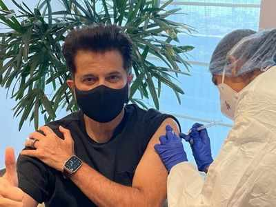 Anil Kapoor receives second shot of COVID vaccine