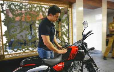 Aamir Khan is now proud owner of bike made from decommissioned aircraft carrier INS Vikrant's metal