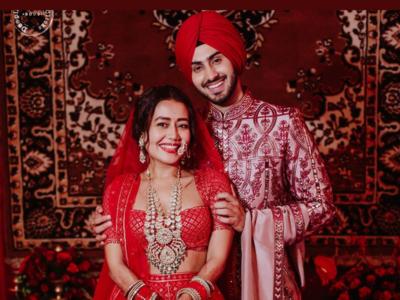 In Photos: All that happened at Neha Kakkar and Rohanpreet Singh's wedding