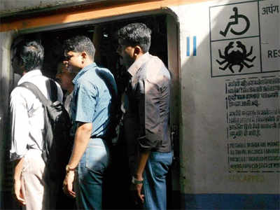350 able-bodied commuters caught travelling in disabled coach