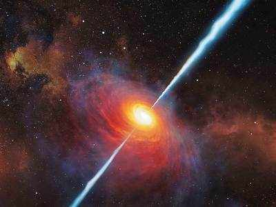 Astronomers spot double quasars in merging galaxies