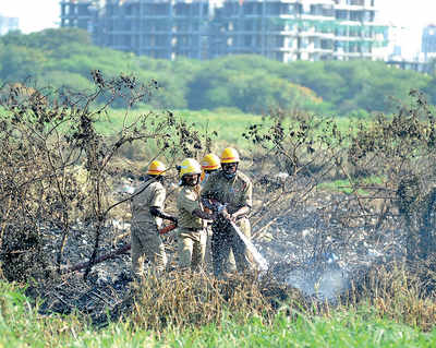 Blame game over inferno rages on