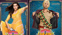'Arjun Patiala' posters out: Kriti Sanon , Diljit Dosanjh coming with hilarious jokes