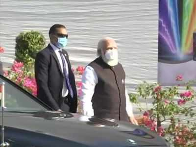 PM Modi visits Zydus Biotech Park in Ahmedabad for vaccine review