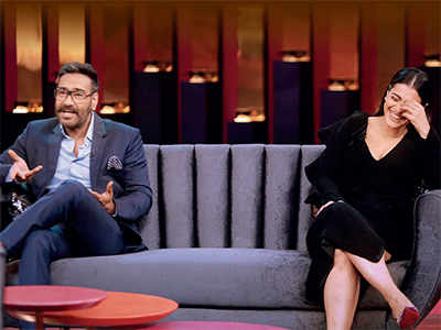 Koffee With Karan 6: Karan Johar chats up Ajay Devgn and Kajol