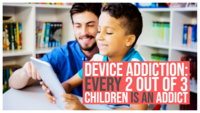 Device addiction: Every 2 out of 3 children is an addict, says this report