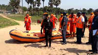 Visakhapatnam: NDRF conducts cyclone mock exercise 2019