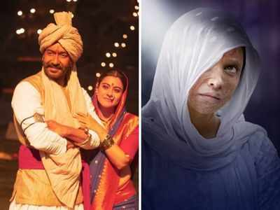 Tanhaji: The Unsung Warrior inches closer to Rs 100 crore, Chhapaak shows downward trend