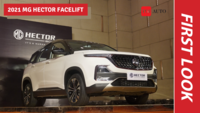 2021 MG Hector facelift | Walkaround