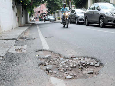 He swore to eradicate potholes in Bengaluru. And then a pothole got him