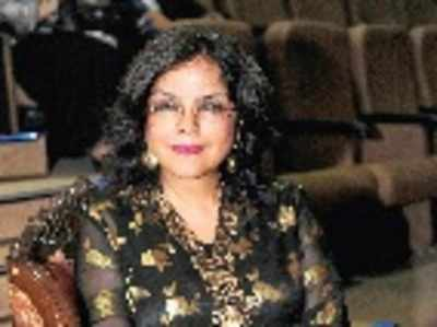 Zeenat Aman's 'beautiful' comeback