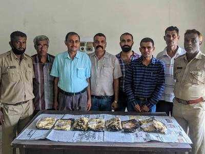 Gujarat Customs seizes 5.8 kg charas off Kutch coast