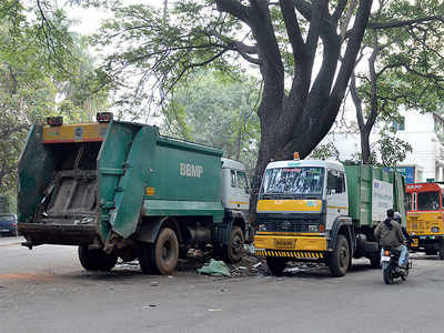 Bengaluru traffic trashes garbage compactors too