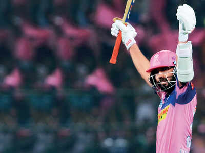 RR vs DC: Ajinkya Rahane hits first IPL century in seven years